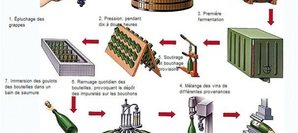 champagne elaboration