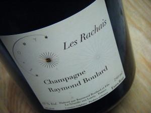 Champagne Extra Brut Raymond Boulard - Les Rachais