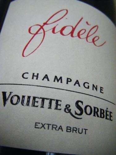 Champagne Extra Brut Vouette & Sorbée