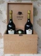 Champagne Taittinger Comtes de Champagne 2004 - coffret 6 bouteilles