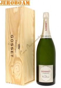 Champagne Gosset Brut Excellence Jeroboam 3l
