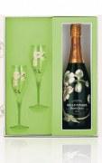 Champagne Perrier Jouet Coffret Belle Epoque 2008 75cl + 2 Flûtes