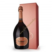 Champagne Ruinart Brut Rosé 75cl - coffret
