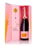 Champagne Veuve Clicquot Brut Rosé - Coffret Clicqu'all