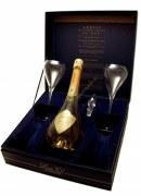 Champagne De Venoge Cuvée Louis XV 1996 + 2 flutes louis XV