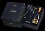 Champagne Piper Heidsieck Cuvée Rare 2002 - Coffret 2 flûtes