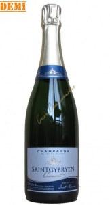 Champagne Saint Gybryen Brut Réserve Blanc de Blancs demi bouteille 37.5cl