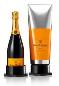 Champagne Veuve Clicquot Carte Jaune coffret Gouache